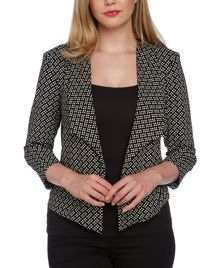 Roman Originals Print Jersey Jacket