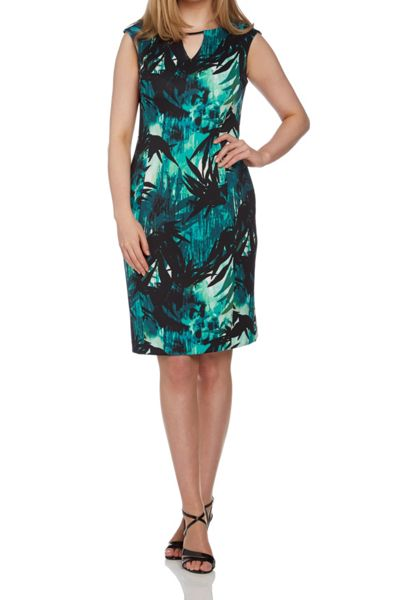 Roman Originals Tropical Print Dress
