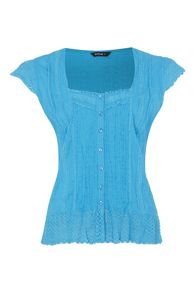 Roman Originals Casual Crinkle Detail Blouse