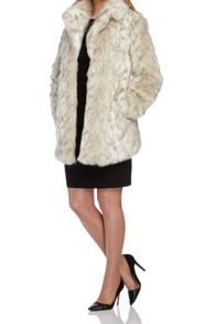 Roman Originals Animal Faux Fur Coat