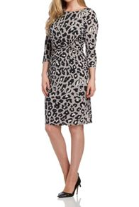 Roman Originals Animal Print Dress