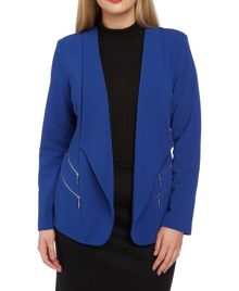 Roman Originals Double Zip Detail Jacket