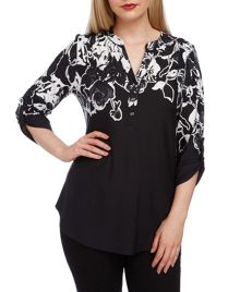 Roman Originals Placement Print Jersey Shirt