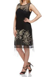 Roman Originals Embellished Flapper Dress