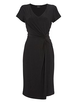 Plain ITY Knee Length Dress