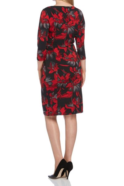 Roman Originals Floral Printed Jersey Dress