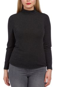 Roman Originals Jersey Turtleneck Top