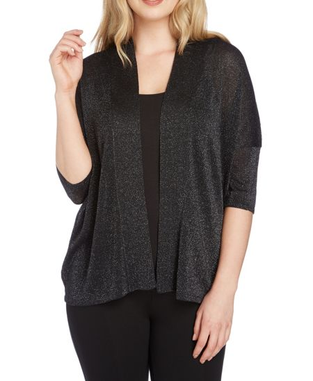 Roman Originals Short Sleeve Shimmer Cardigan