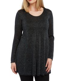 Roman Originals Swing Jumper with Lurex