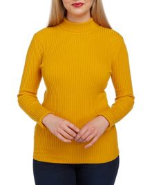 Roman Originals Ribbed Polo Neck
