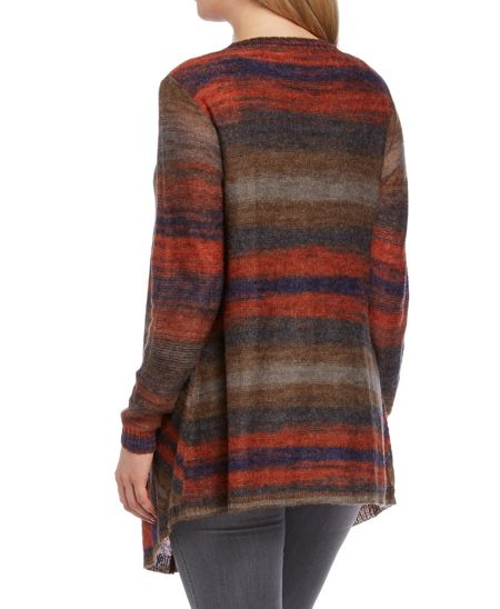 Roman Originals Stripe Waterfall Cardigan