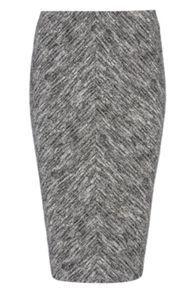 Roman Originals Chevron Pencil Skirt