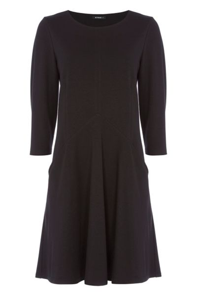 Roman Originals 3/4 Sleeves Fit and Flare Dress