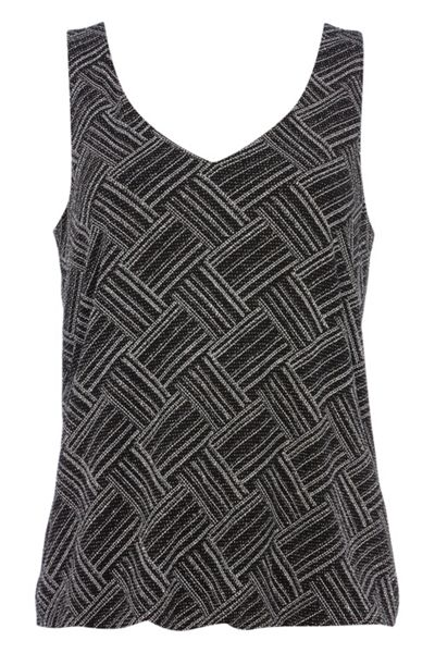 Roman Originals Sparkly Vest Top