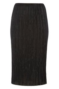 Roman Originals Plisse Pencil Skirt