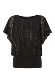 Roman Originals Foil Print Jersey Top