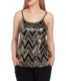 Roman Originals Sequin Cami