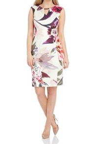Roman Originals Pretty Floral Scuba Dress