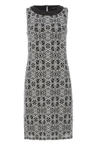 Roman Originals Embroidered Lace Shift Dress