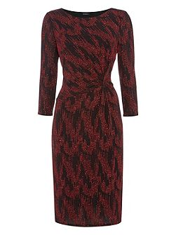 Zig Zag Lurex Dress