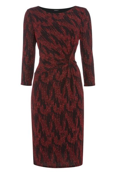 Roman Originals Zig Zag Lurex Dress