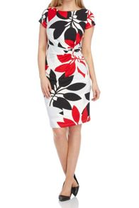 Roman Originals Contrast Leaf Dress