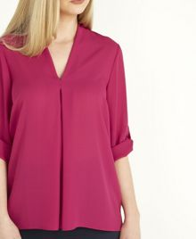 Roman Originals Pleated Front Blouse