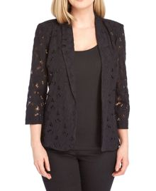 Roman Originals Lace Blazer