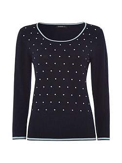 Multi Spot Detail Jumper