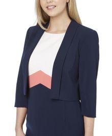 Roman Originals Edge to Edge Crepe Jacket