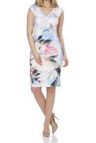 Roman Originals Floral Scuba Print Dress