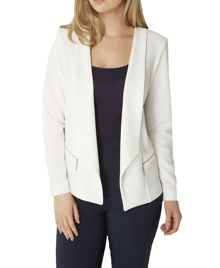 Roman Originals Textured Zip Jacket