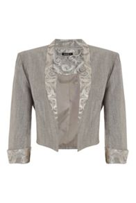 Roman Originals Crushed Jacquard Jacket