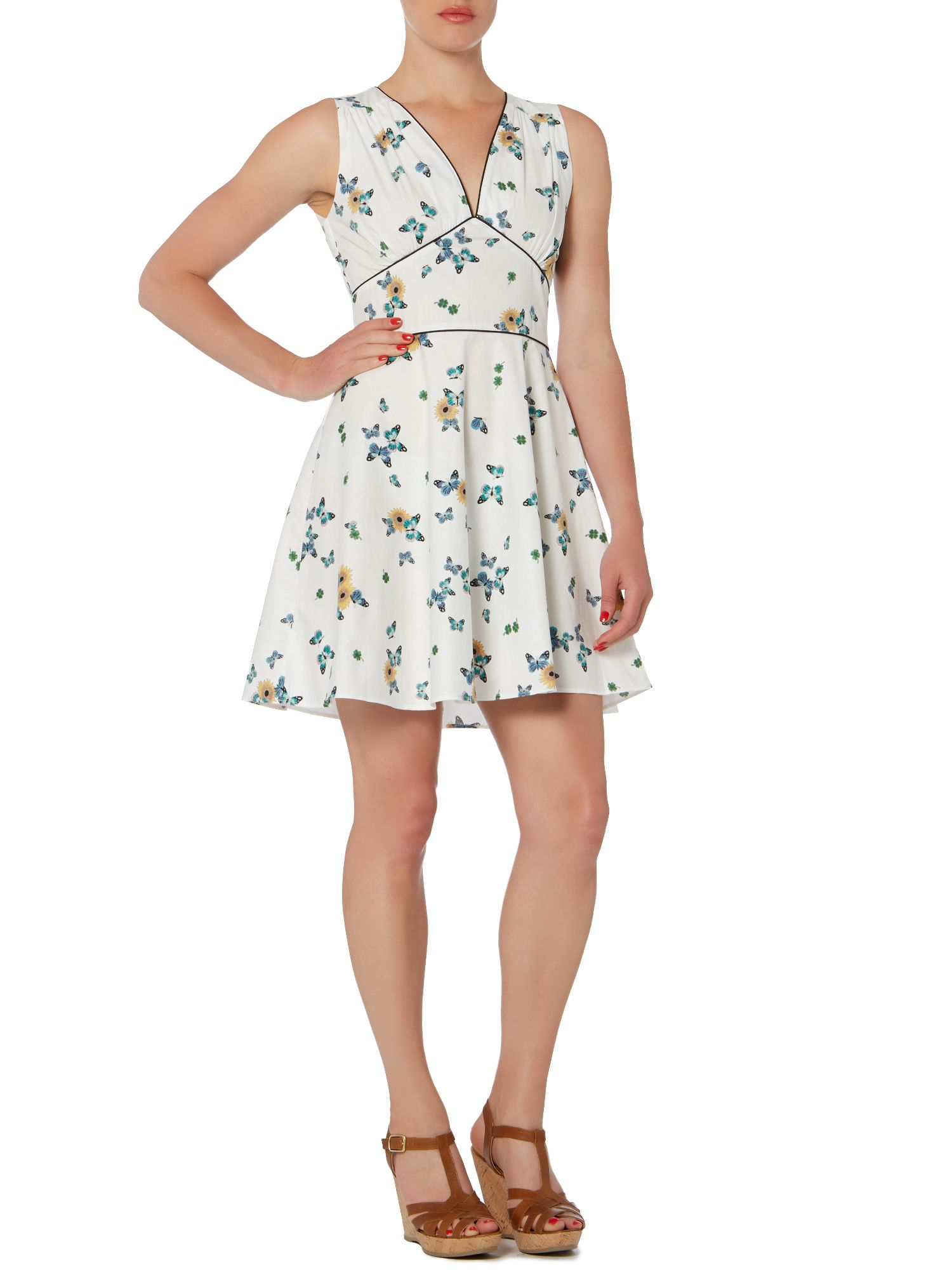 Marilyn swing skirt dress