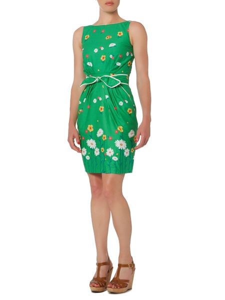 Trollied Dolly Tie Waist Dress