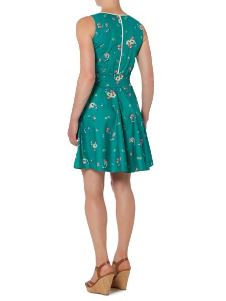 Trollied Dolly Wiggle Waist Dress