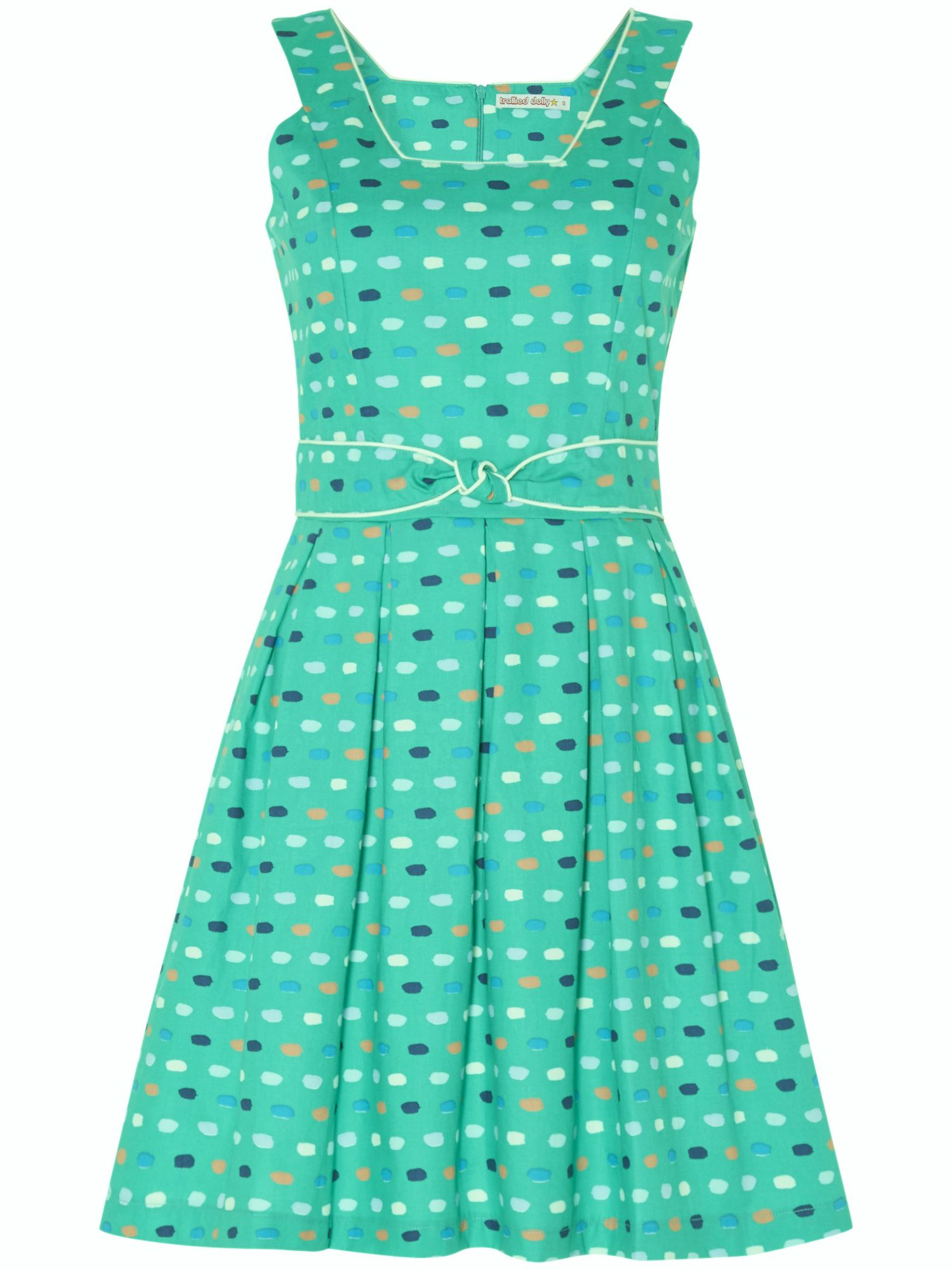 Trollied Dolly Sun Up Fun Up Dress $55.00 AT vintagedancer.com