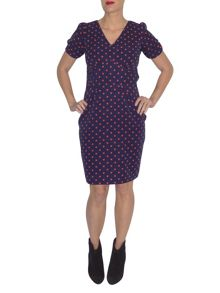 Trollied Dolly Dip and Dazzle Dress