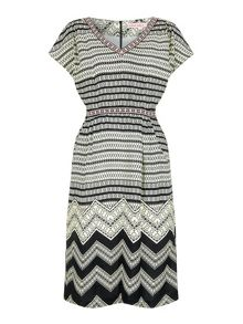 Trollied Dolly Throw on and go dress