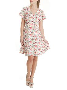 Trollied Dolly Angel Tea Dress