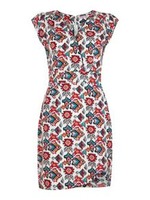 Trollied Dolly Cute Crossover Dress