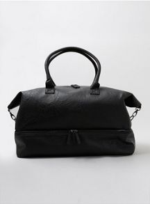 Topman Leather look holdall