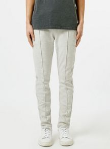 Topman Pleated skinny fit jogger