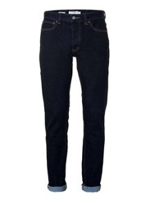 Topman Raw Wash Slim Jeans