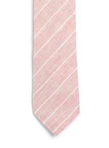 Topman Stripe cotton tie