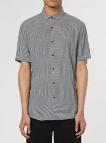 Topman Short sleeve geo print shirt