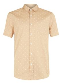 Topman Short sleeve dandelion shirt