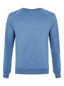 Topman Long sleeve raglan sweatshirt.