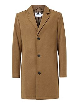 Camel Wool Rich Overcoat