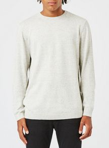 Topman Neppy Crew Neck Jumper